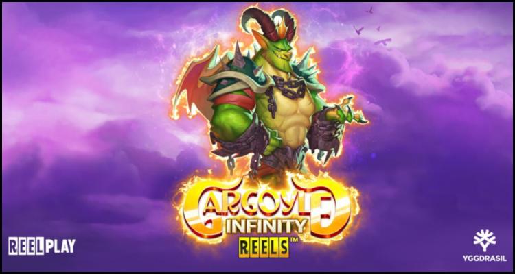 Gargoyle Infinity Reels (Video-Slot) von Yggdrasil Gaming Limited vorgestellt