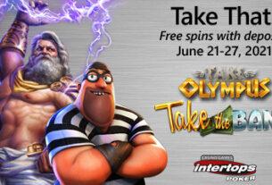 Die neue Extra-Spins-Woche beginnt diesen Montag online bei Intertops.