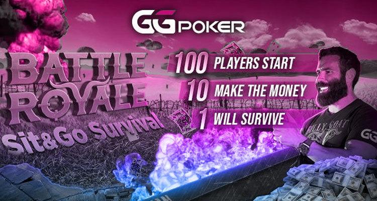 Die neuen Battle Royale Online Poker Events von GGPoker sind ein Erfolg