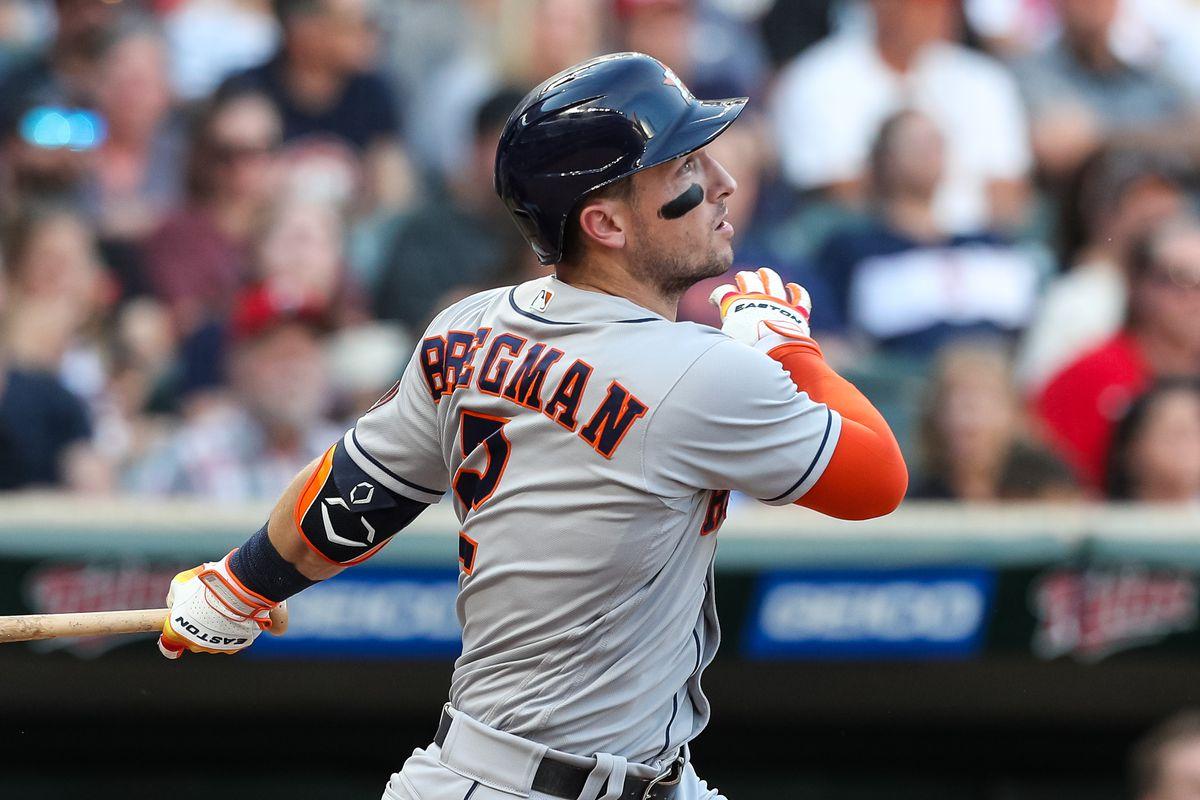 Houston Astros setzt Alex Bregman auf die Liste der Verletzten am 10. Tag