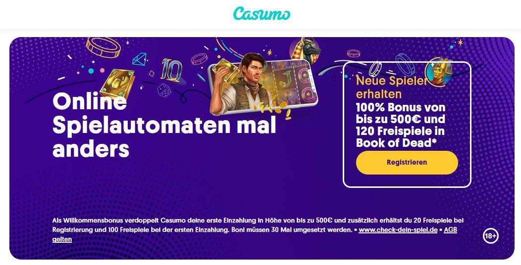 Online Slots im Casumo Casino spielen