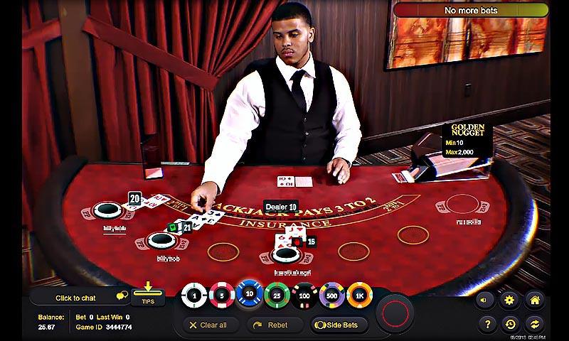 Live-Dealer BlackJack
