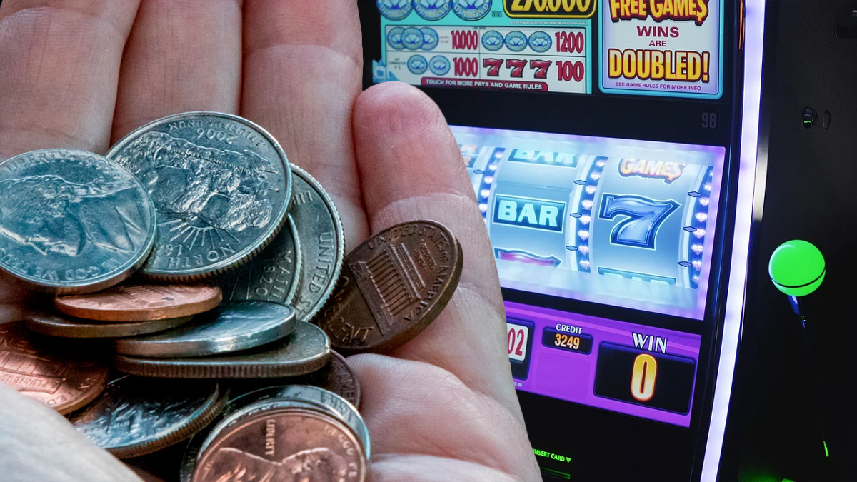 Münzen und Slot-Spiele